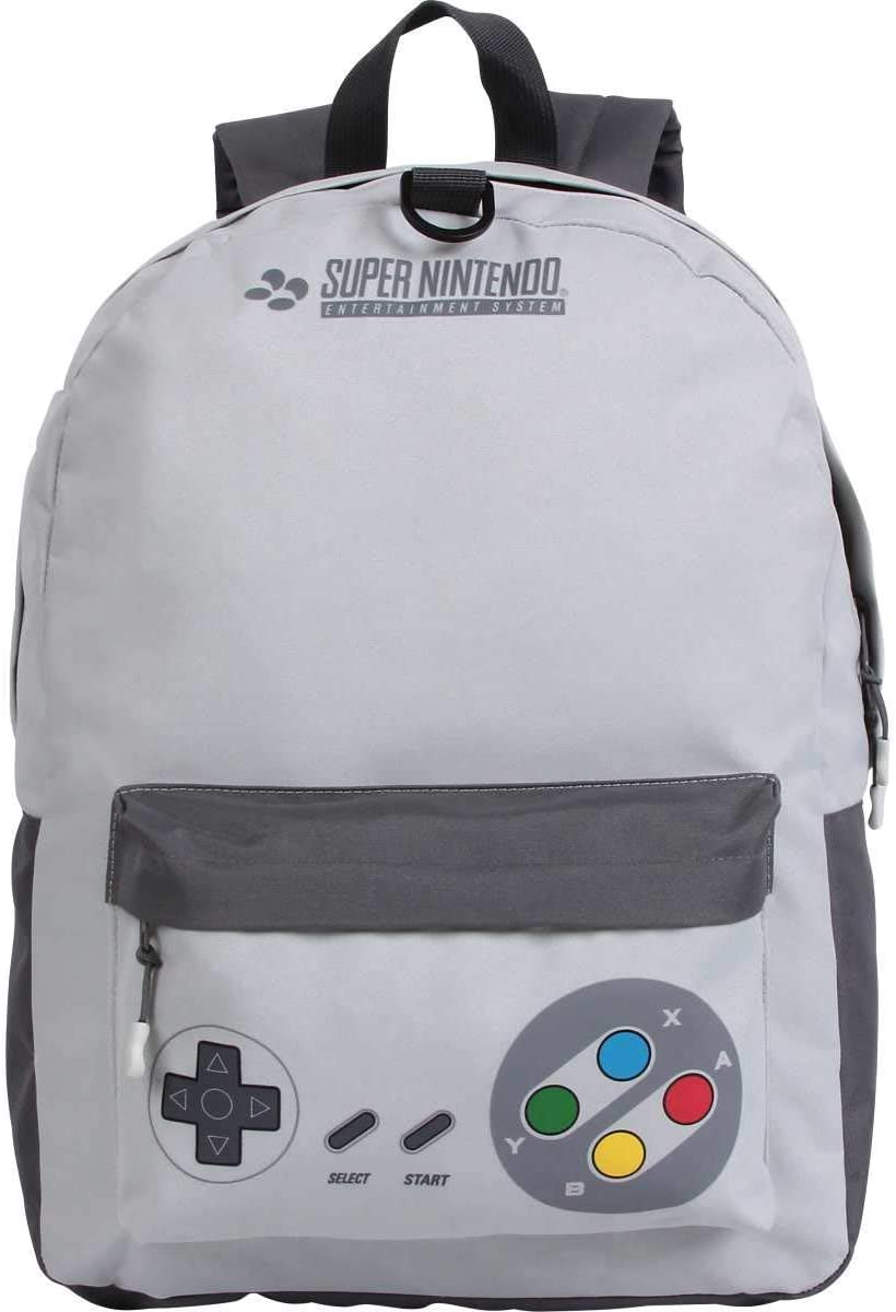 Mochila Super Nintendo C/ Fone de Ouvido 11546 DERMIWIL