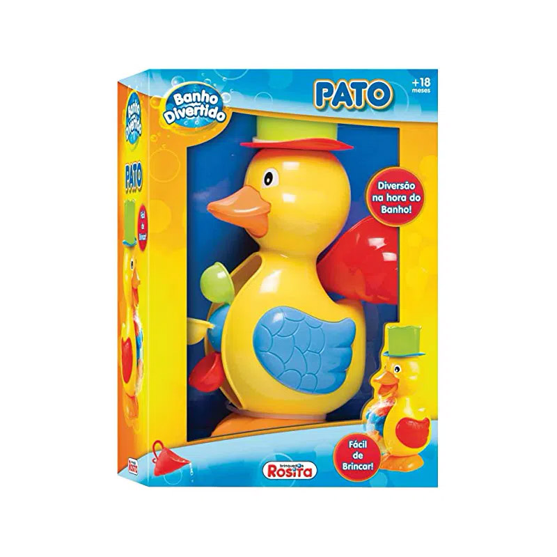 Pato Banho Divertido 9852 ROSITA