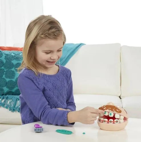 Play-Doh Brincando Dentista B5520 HASBRO