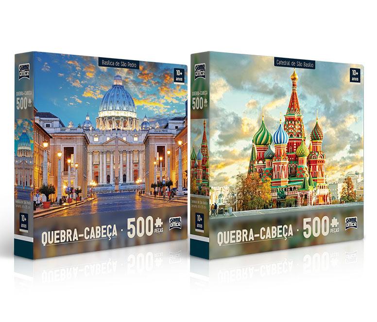 Quebra Cabeças 500 peças Basilica / Catedral TOYSTER