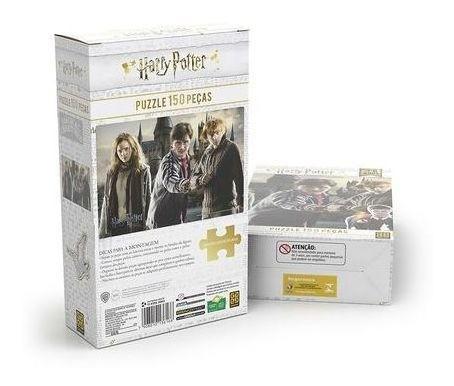 Quebra Cabeça Puzzle 150 Peças HARRY POTTER 3616 GROW