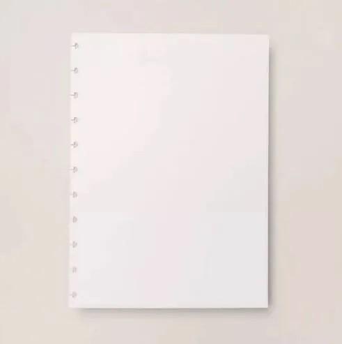 Refil Para Caderno Inteligente Grande 50 Folhas Quadriculadas 90G