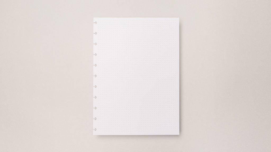 Refil Para Caderno Inteligente Médio 30 Folhas Pontilhadas