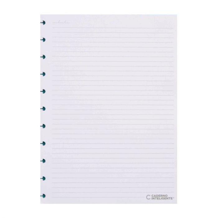 Refil Para Caderno Inteligente Médio 50 Folhas - Pautado