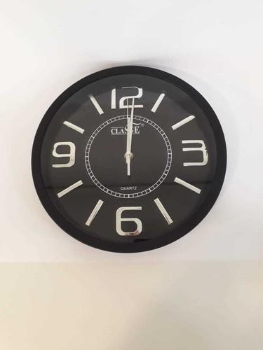 Relógio de Parede  Preto/Branco RL1202-30 CLASSE