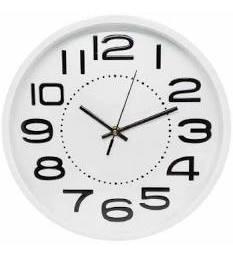 Relógio de Parede Redondo Sortido GD9858 YINS