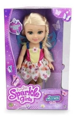 Sparkle Girlz Pequena Brilhante Fada DTC