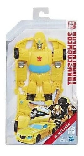 Transformers Titan Changer Bumblebee  E5889 HASBRO