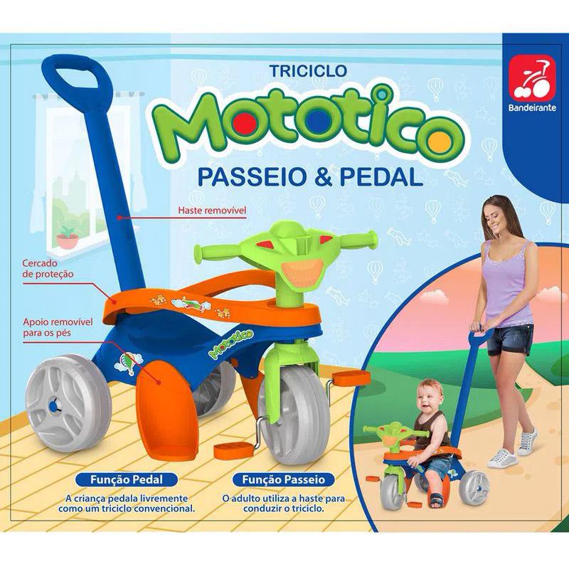 Triciclo Mototico  692 BANDEIRANTE