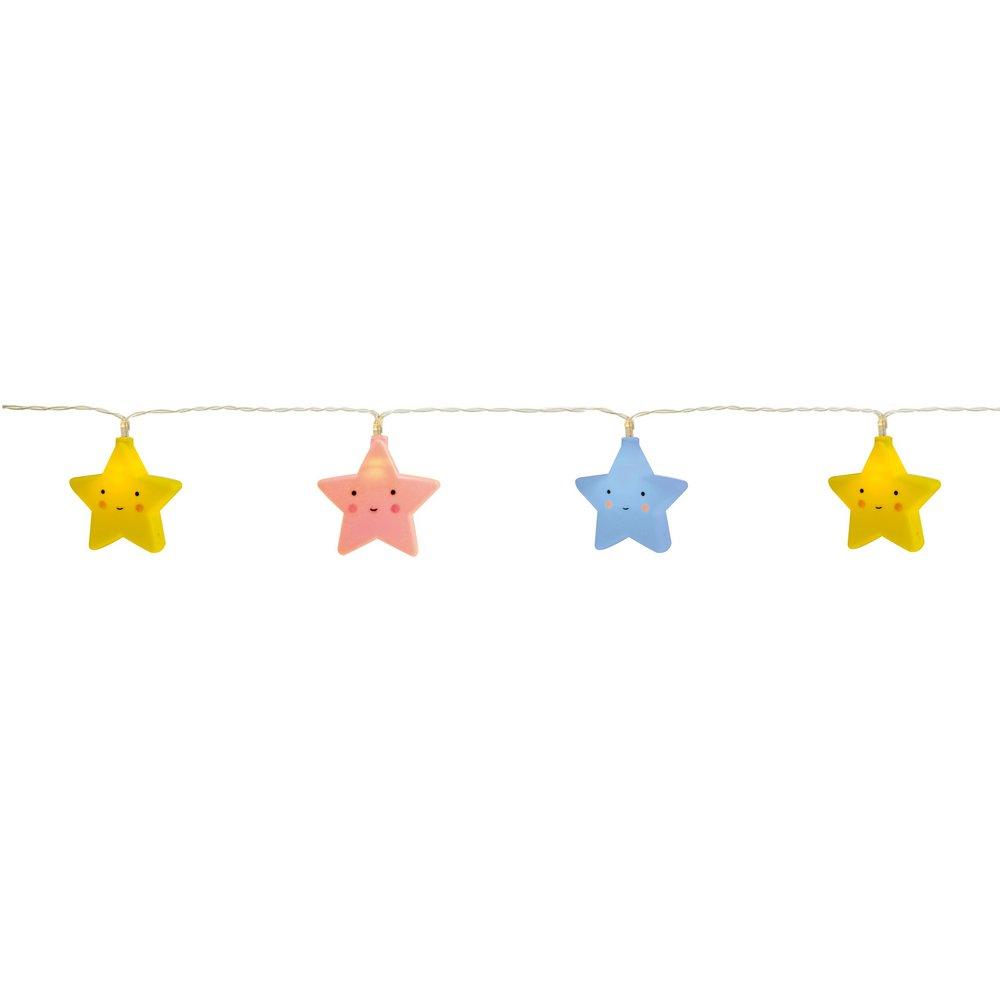 Varalzinho de LED Estrelas Coloridas CROMUS