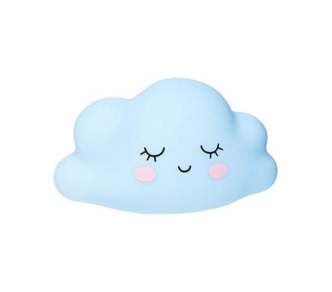 Varalzinho de LED Nuvens Azul/Rosa CROMUS