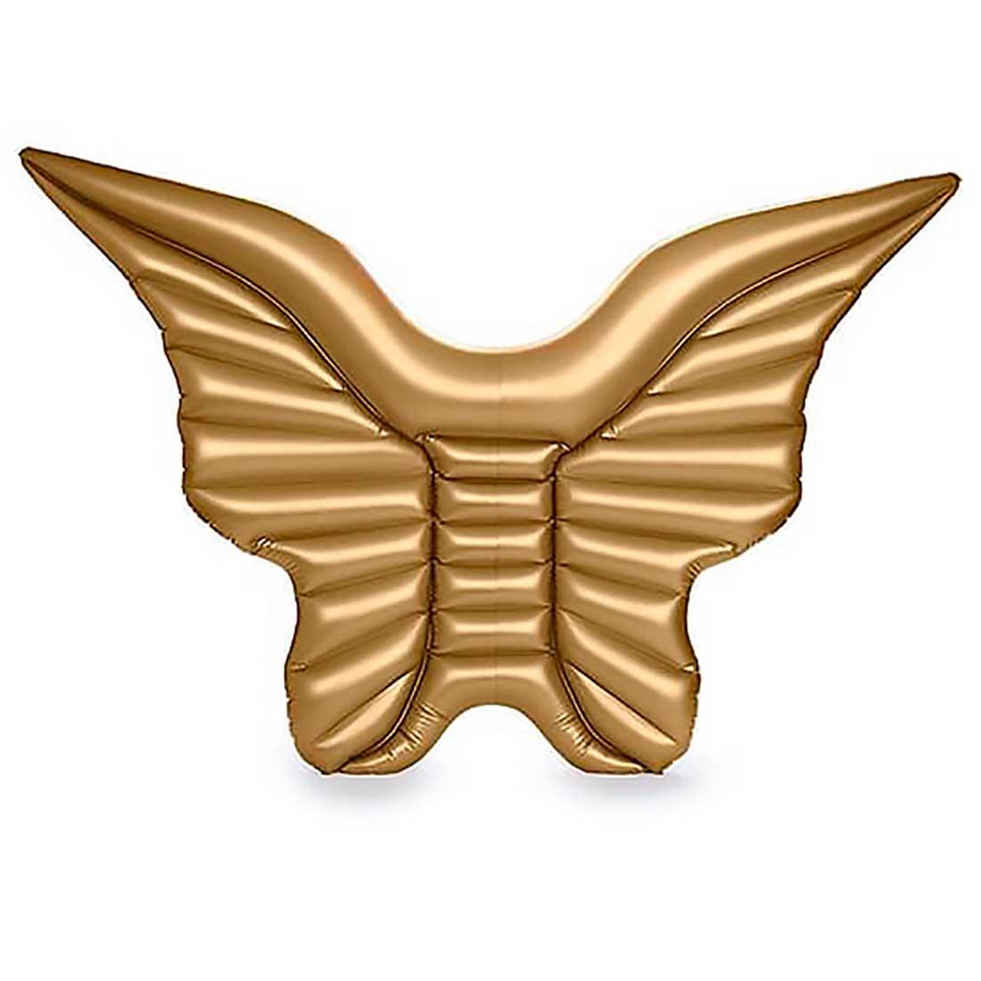 Bóia Asa de Borboleta Gigante 240cm - Dourada