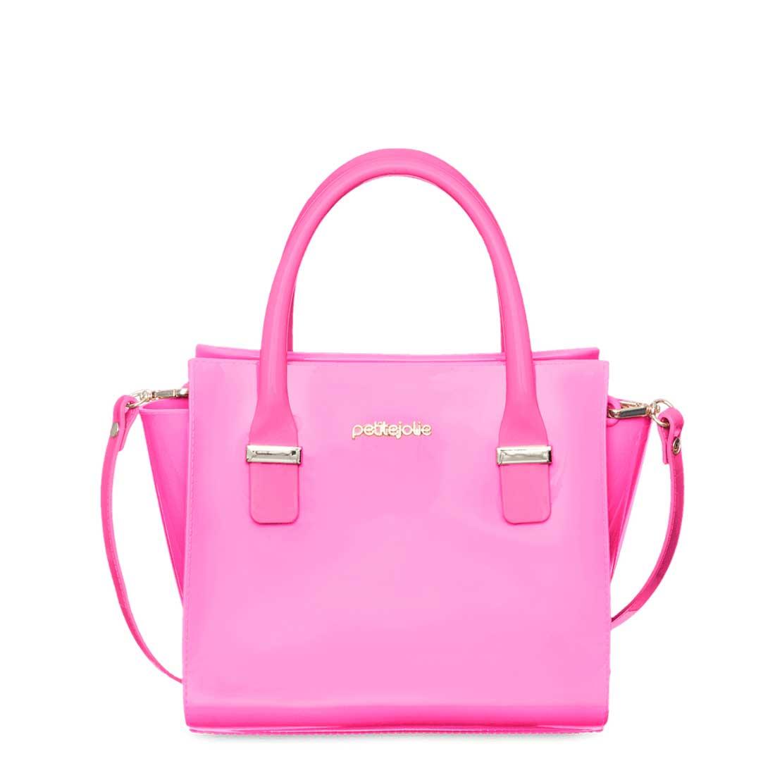 Bolsa Petite Jolie Love - Rosa Neon