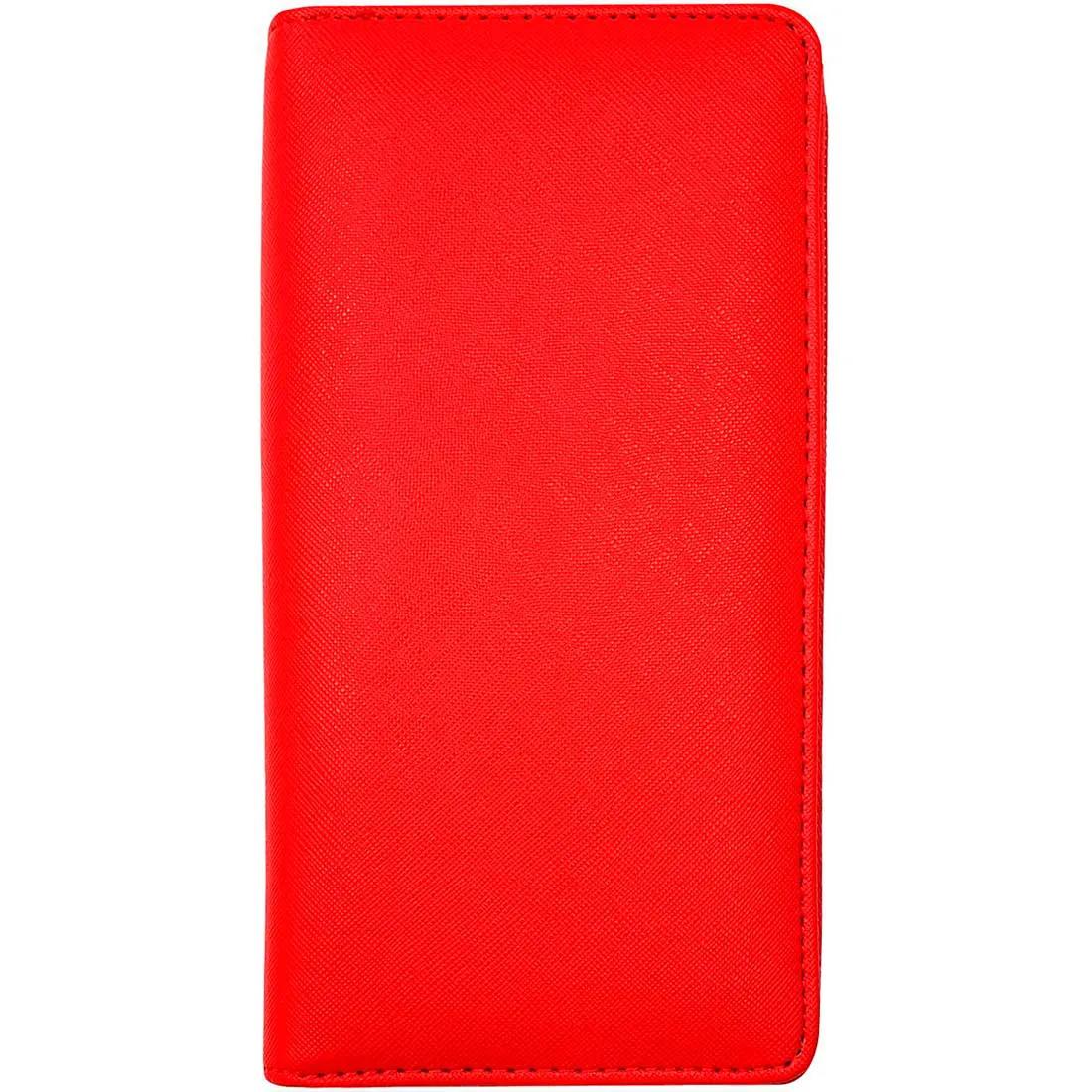 Carteira Lisa - Vermelha