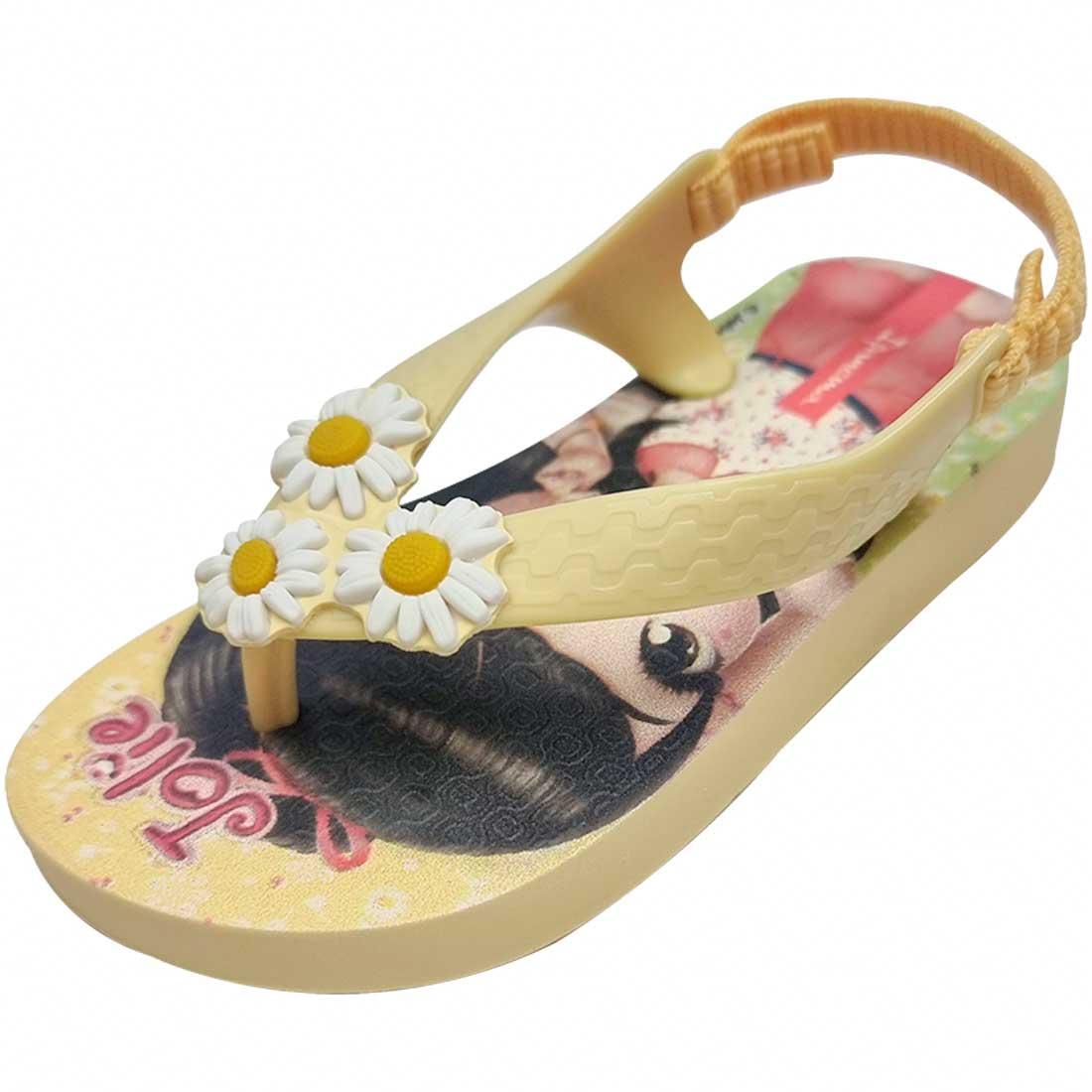 Chinelo Baby Jolie - Amarelo