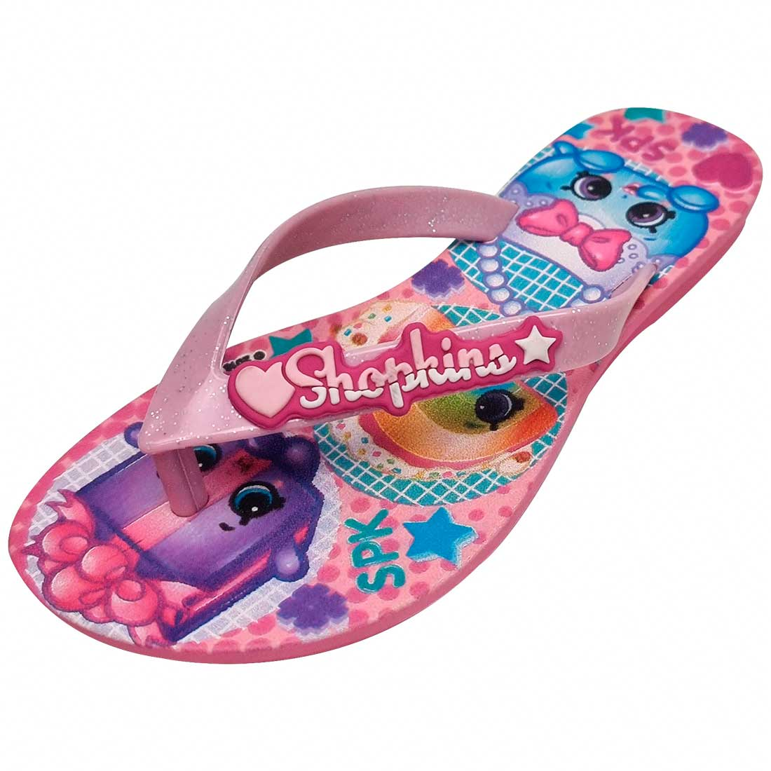 Chinelo Shopkins Funtastic - Rosa