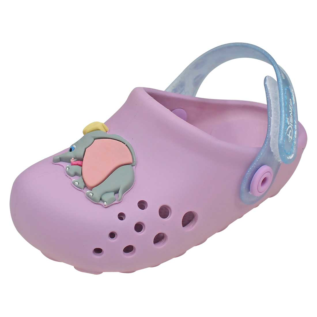 Clog Baby Disney Babuch Dumbo - Lilás