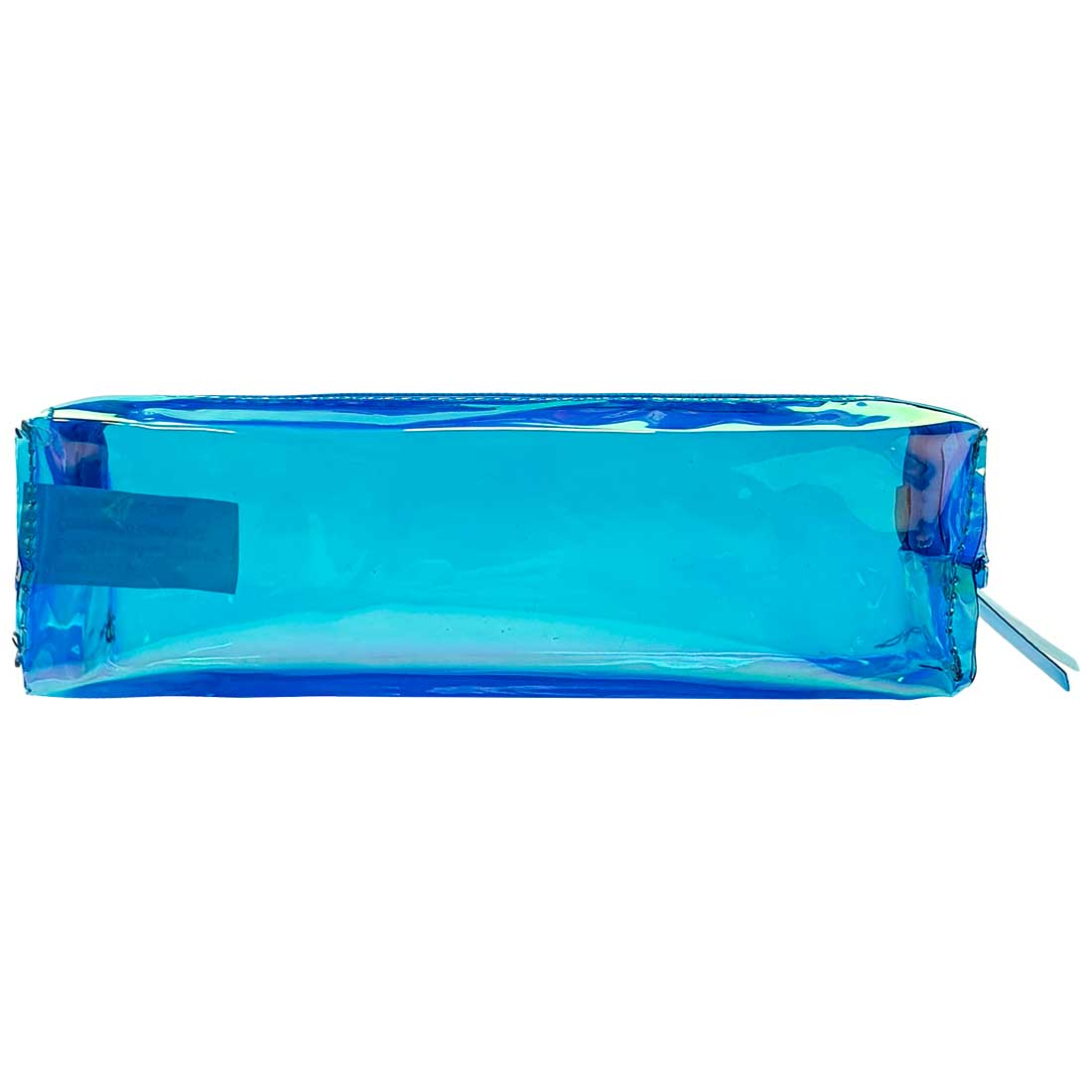 Estojo Transparente Holográfico - Azul
