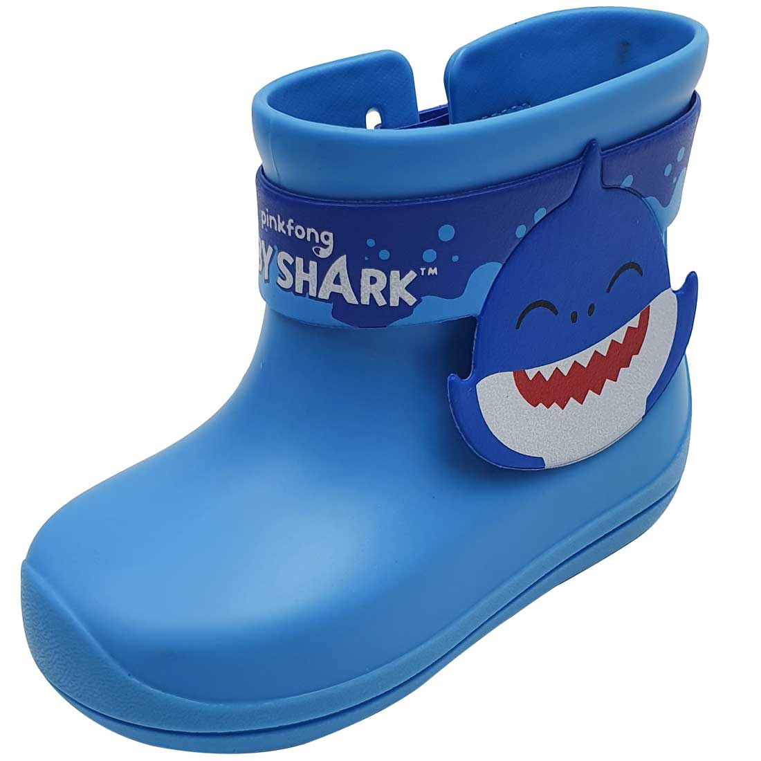 Galocha Baby Shark Splash - Azul