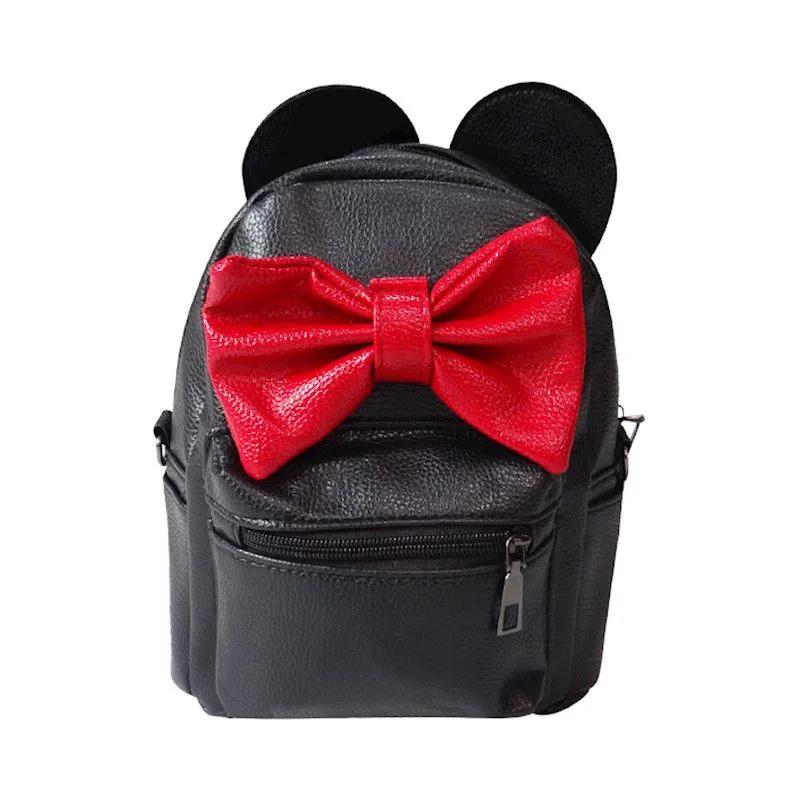 Mini Mochila Minnie Mouse - Preta