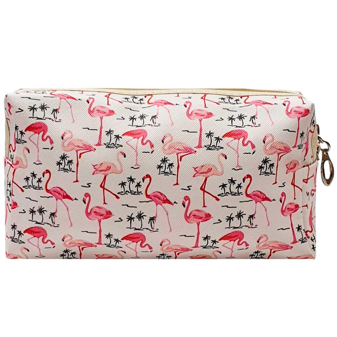 Necessaire Flamingo - Branca