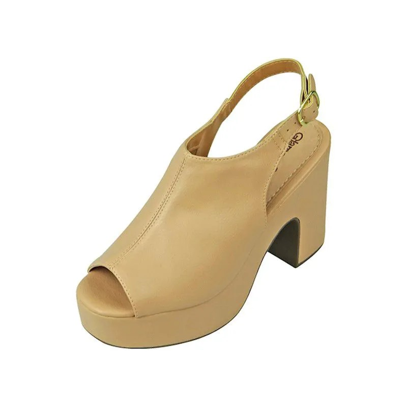 Sandal Boot Meia Pata - Bege