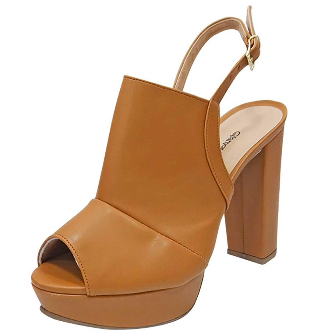 Sandal Boot Meia Pata - Caramelo