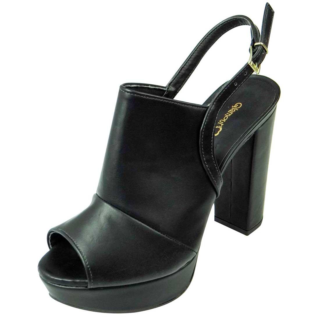 Sandal Boot Meia Pata - Preta