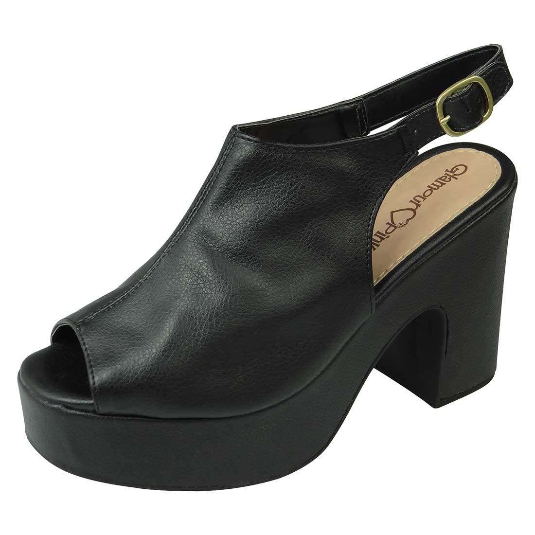 Sandal Boot Meia Pata - Preto