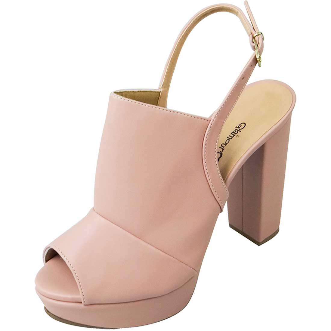 Sandal Boot Meia Pata - Rosa Bebê