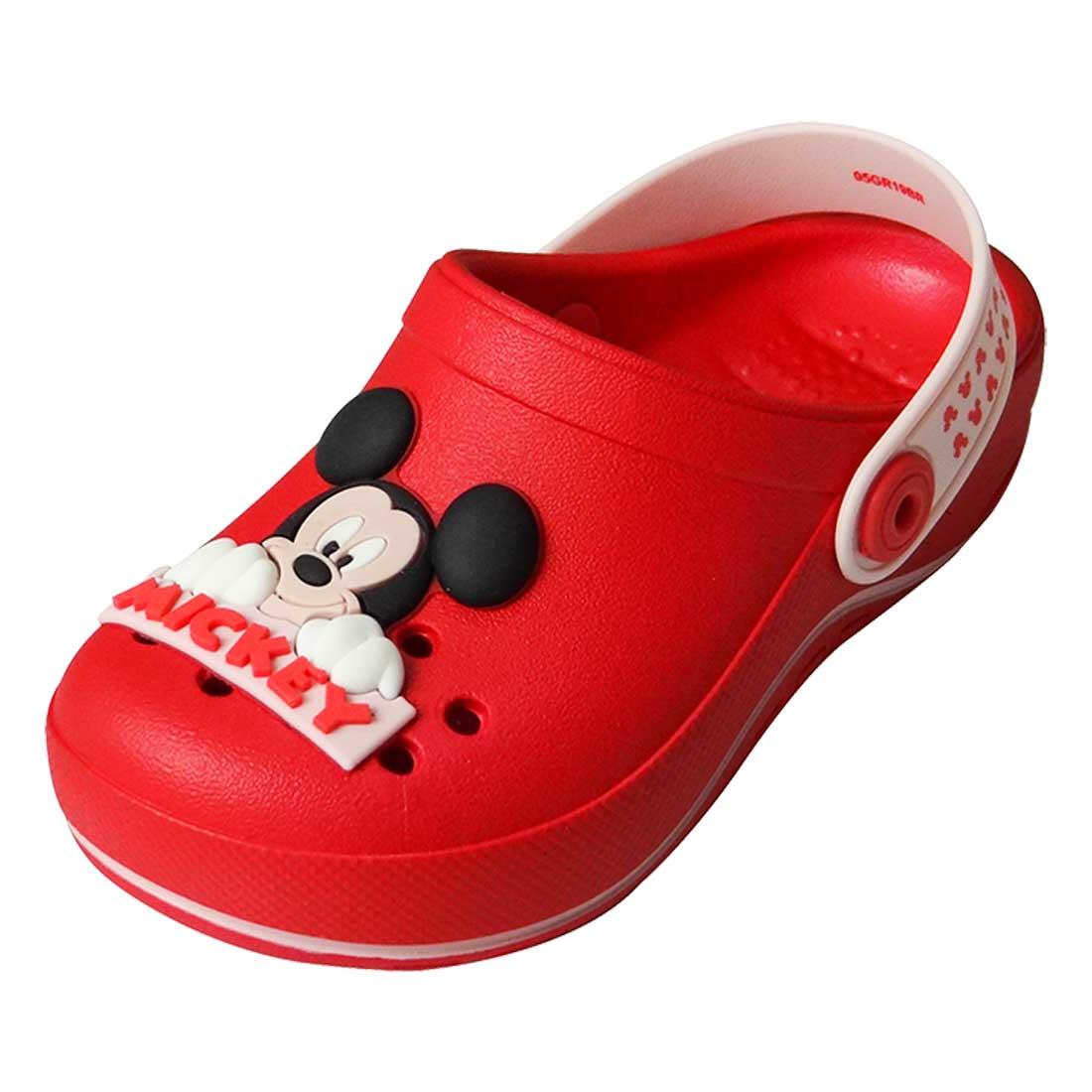 Sandália Baby Disney Babuch Mickey - Vermelha e Rosa