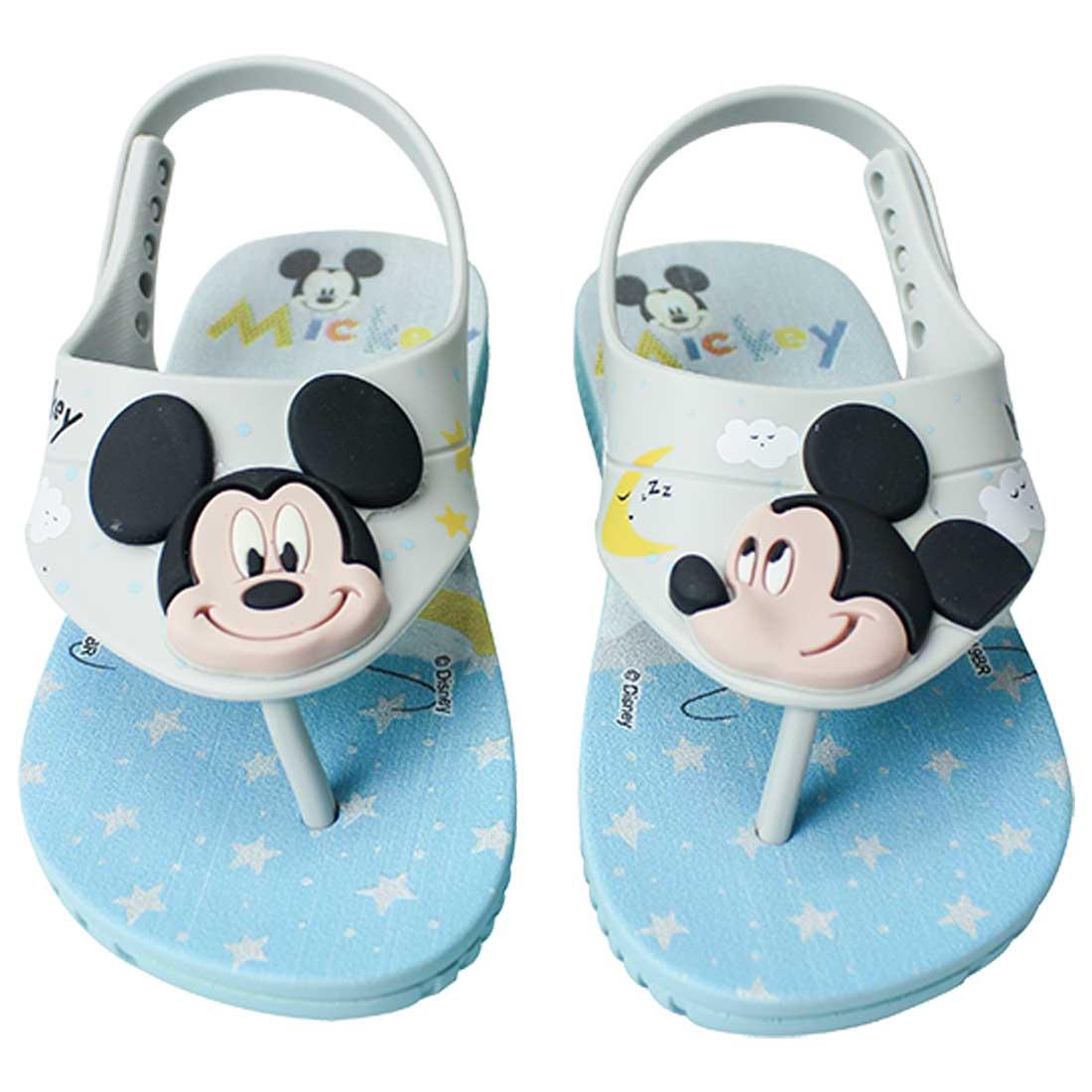 Sandália Baby Disney Cute Fun - Azul Bebê
