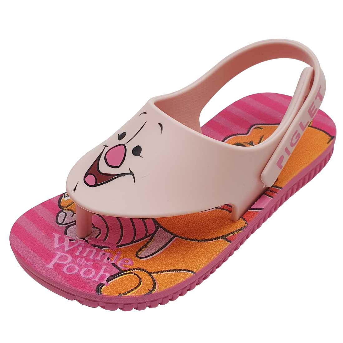 Sandália Baby Disney Leitão - Rosa