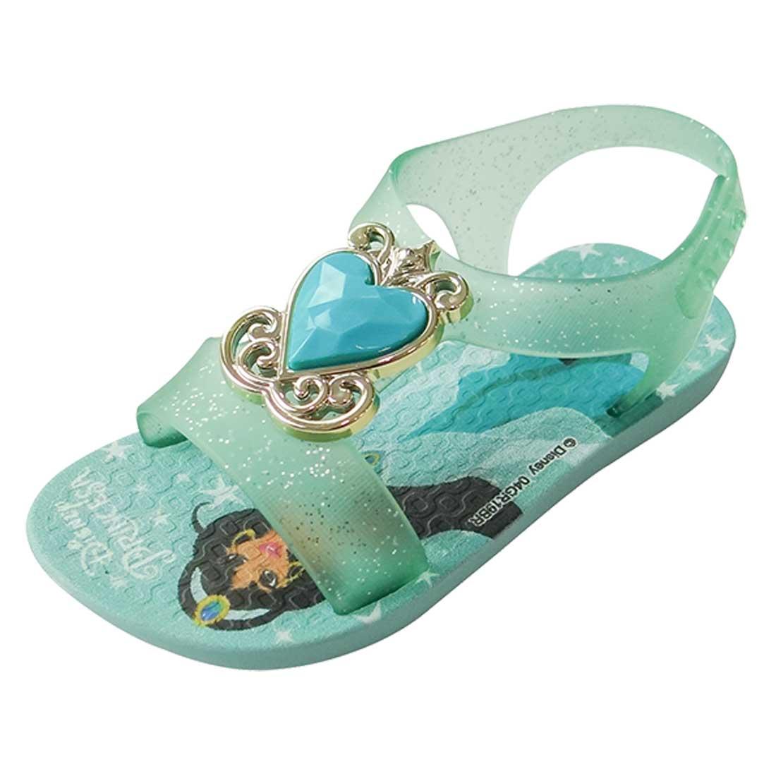 Sandália Baby Disney Princesa - Verde Água