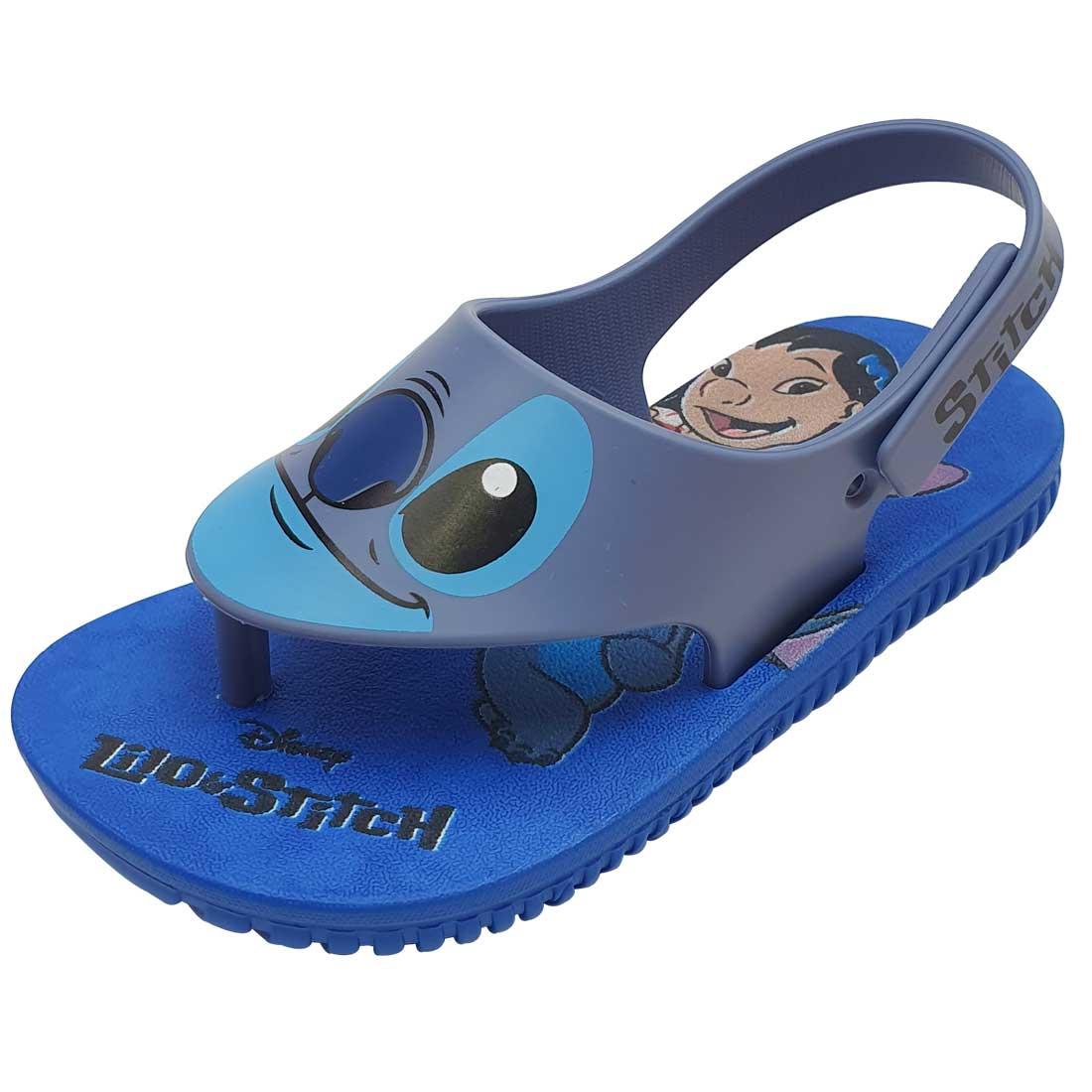 Sandália Baby Disney Stitch - Azul