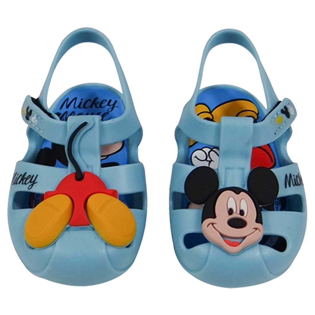 Sandália Baby Disney Sweet Dreams - Azul Bebê