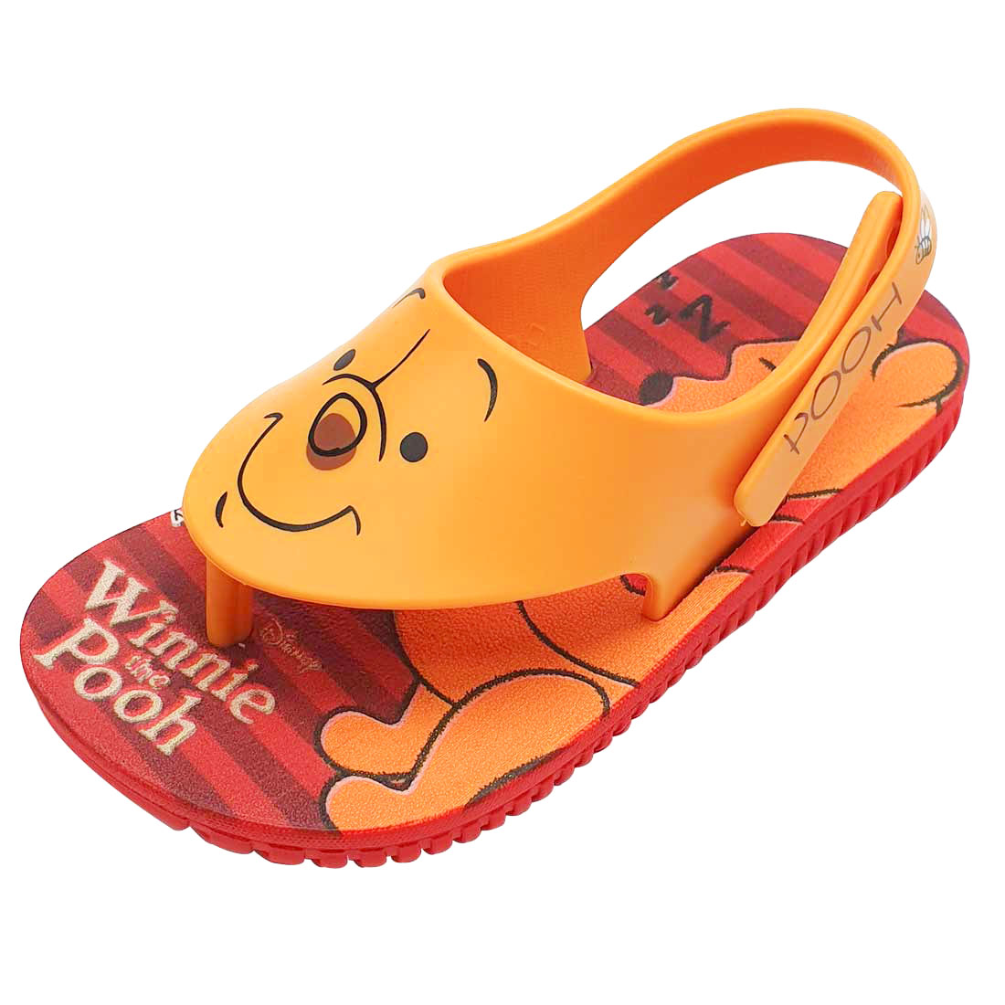Sandália Baby Disney Ursinho Pooh - Amarelo