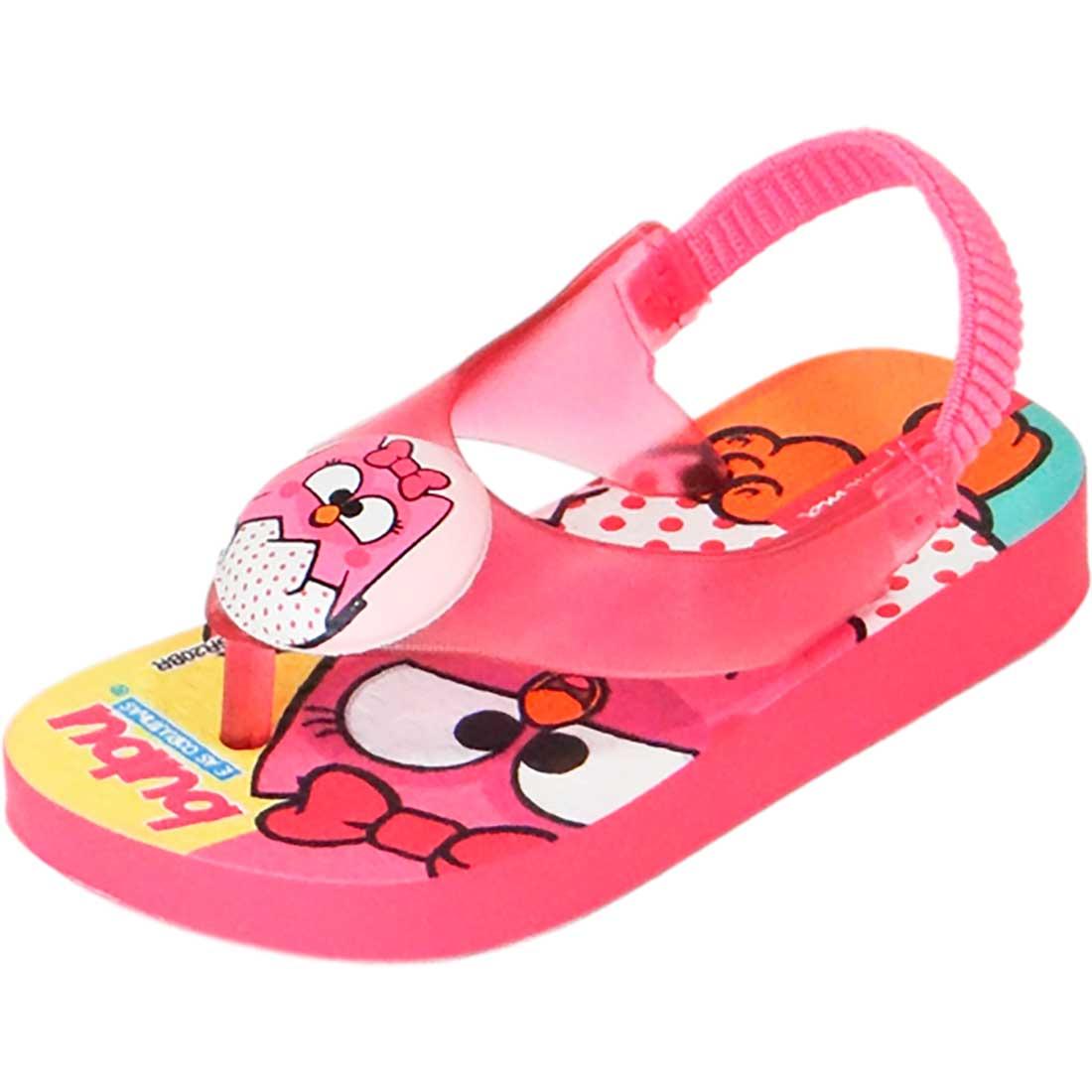 Sandália Baby Ipanema Coruja Bubu - Pink