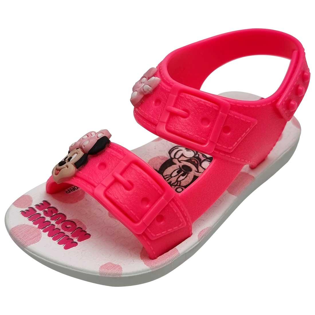 Sandália Baby Ipanema Disney Minnie - Rosa