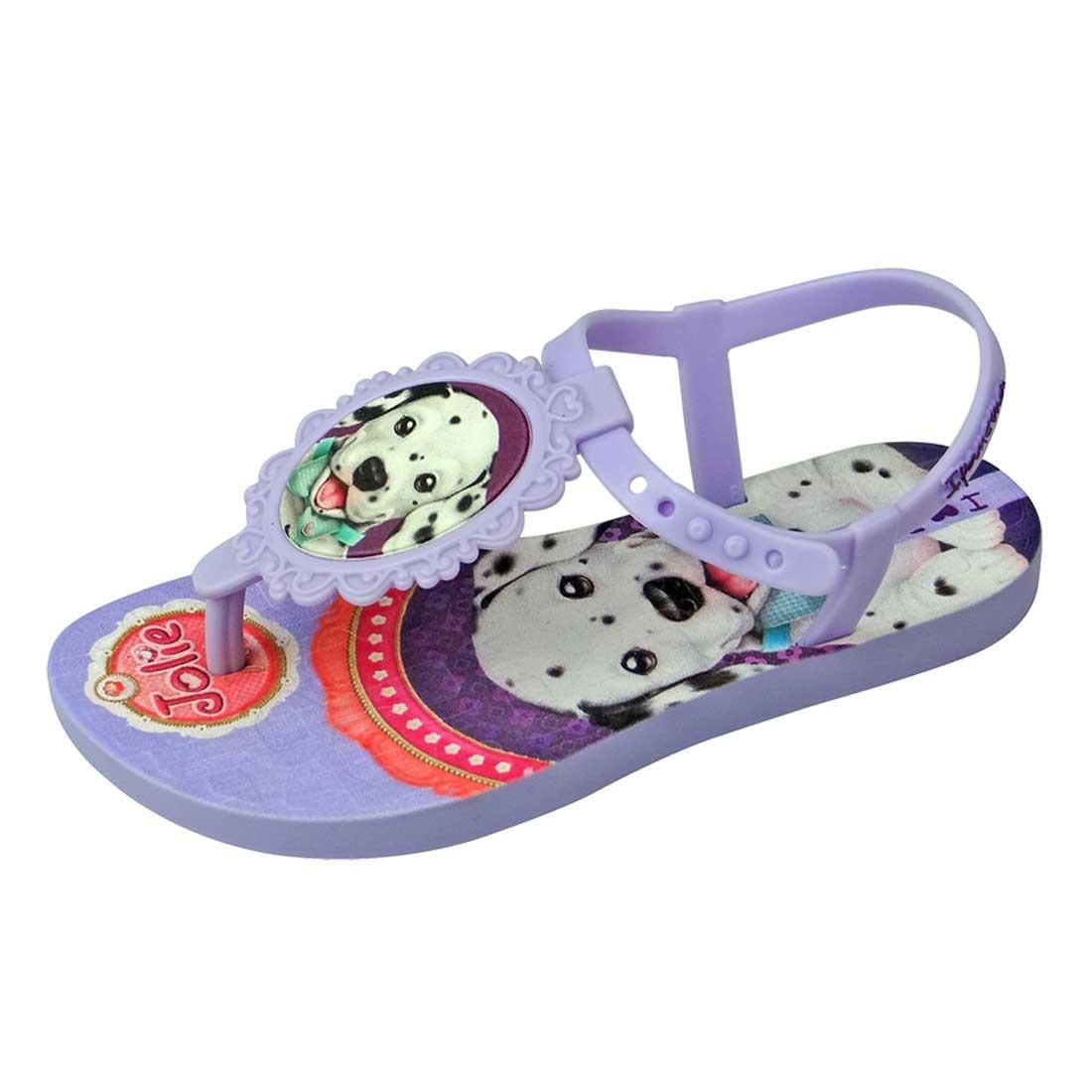 Sandália Baby Jolie Pets - Lilás