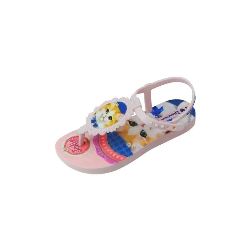 Sandália Baby Jolie Pets - Rosa Bebê