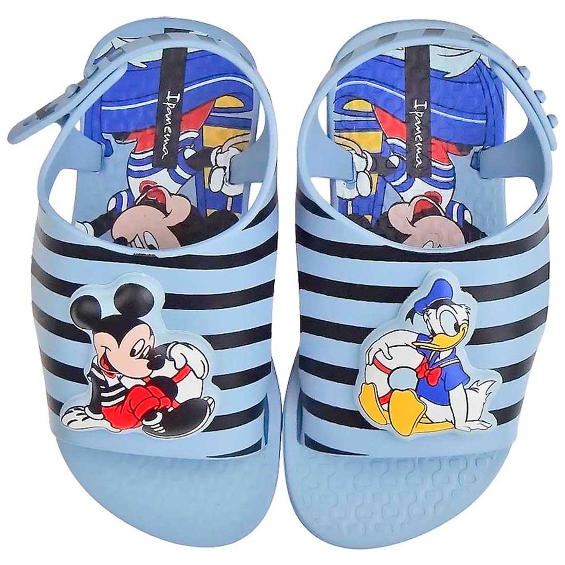 Sandália Baby Love Disney - Azul