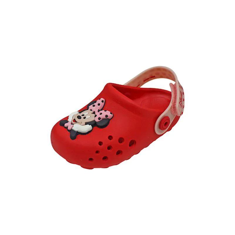 Sandália Baby Mickey e Minnie - Vermelha