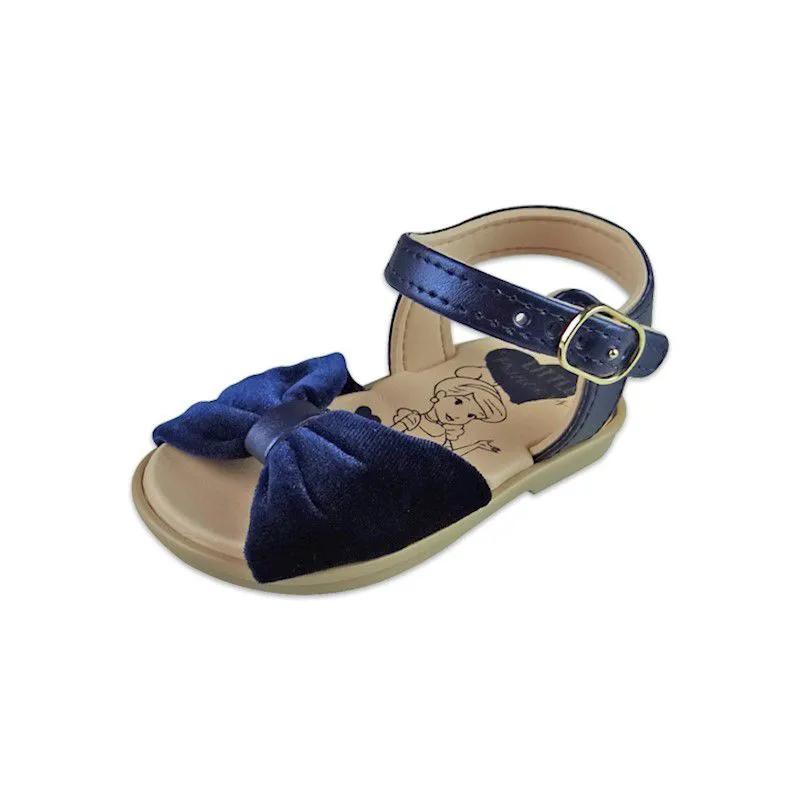 Sandália Baby Princesas - Azul