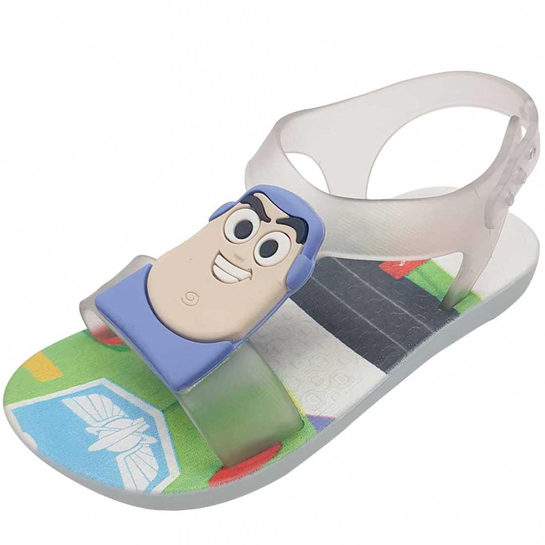 Sandália Ipanema Buzz Lightyear Toy Story - Branco