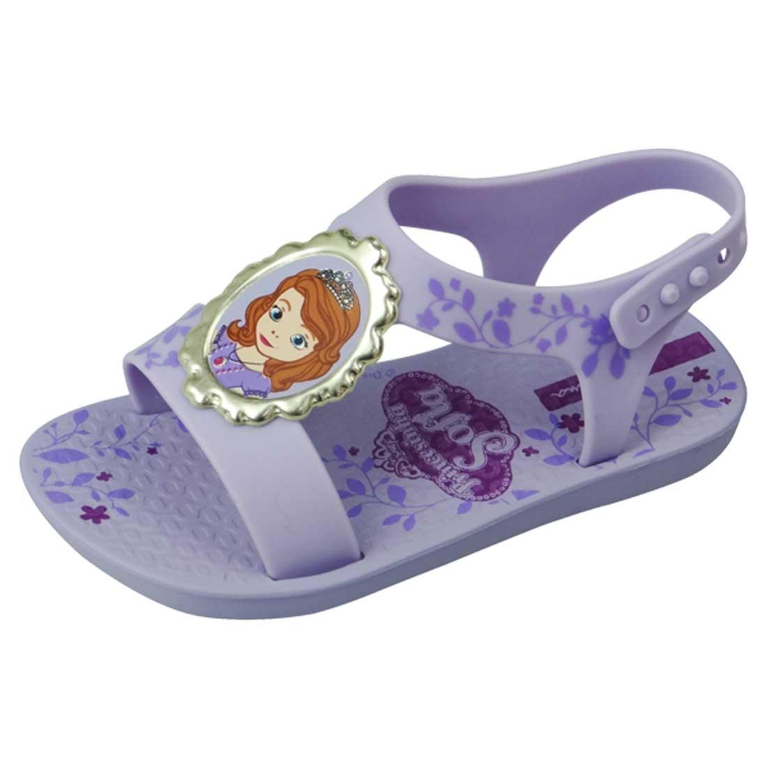 Sandália Ipanema Disney Princesa Sophia - Violeta