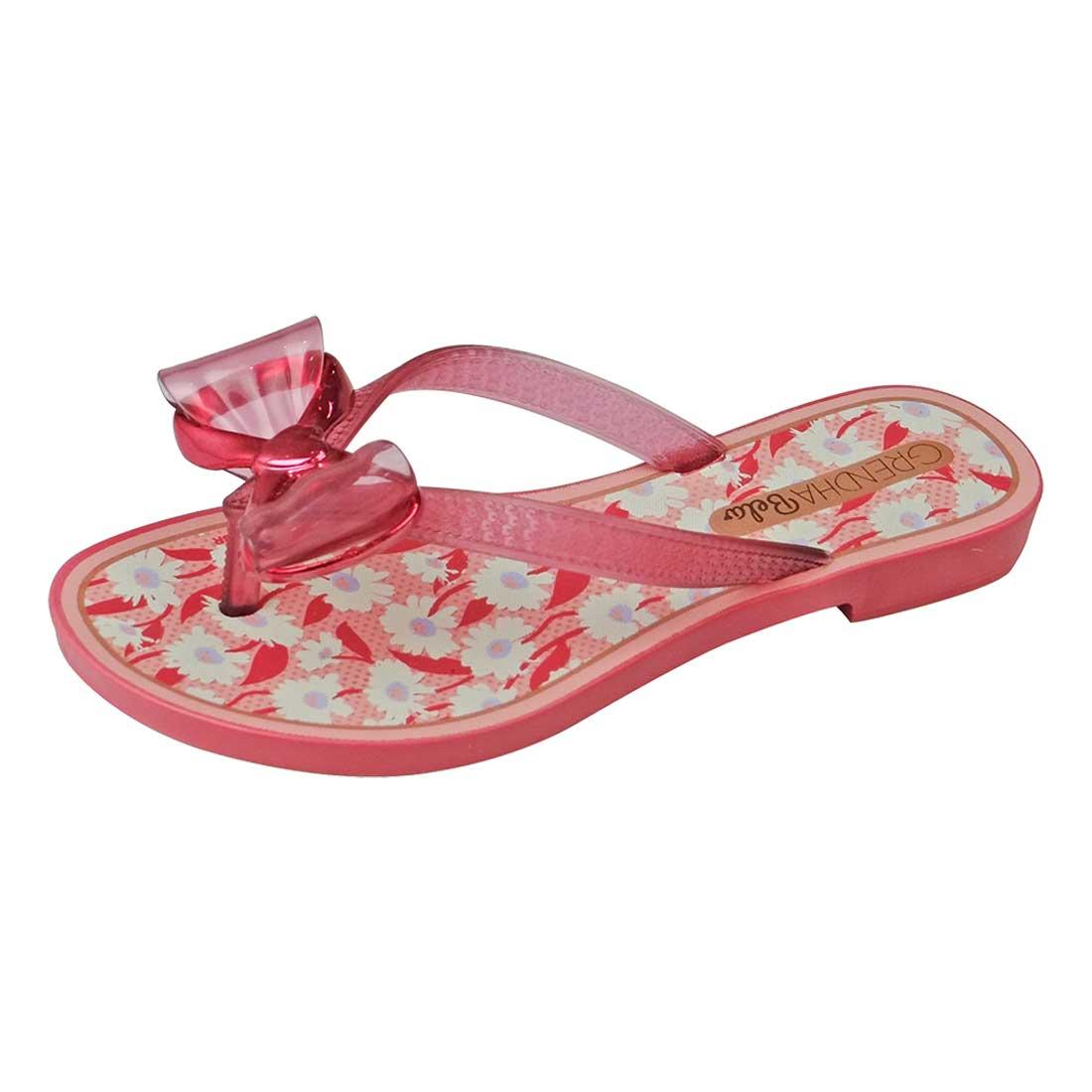 Sandália Kids Grendha Bela Feliz - Pink
