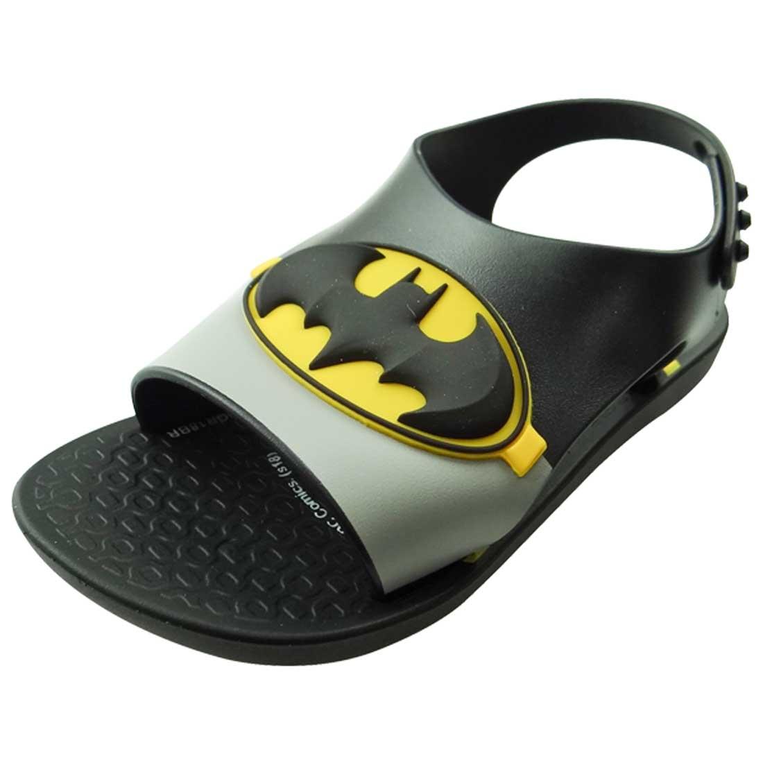Sandália Liga da Justiça Batman - Preta