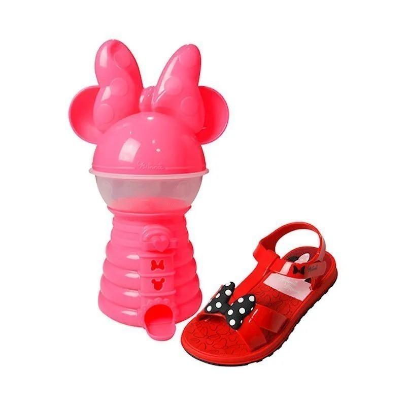 Sandália Minnie - Vermelha (acompanha brinquedo)