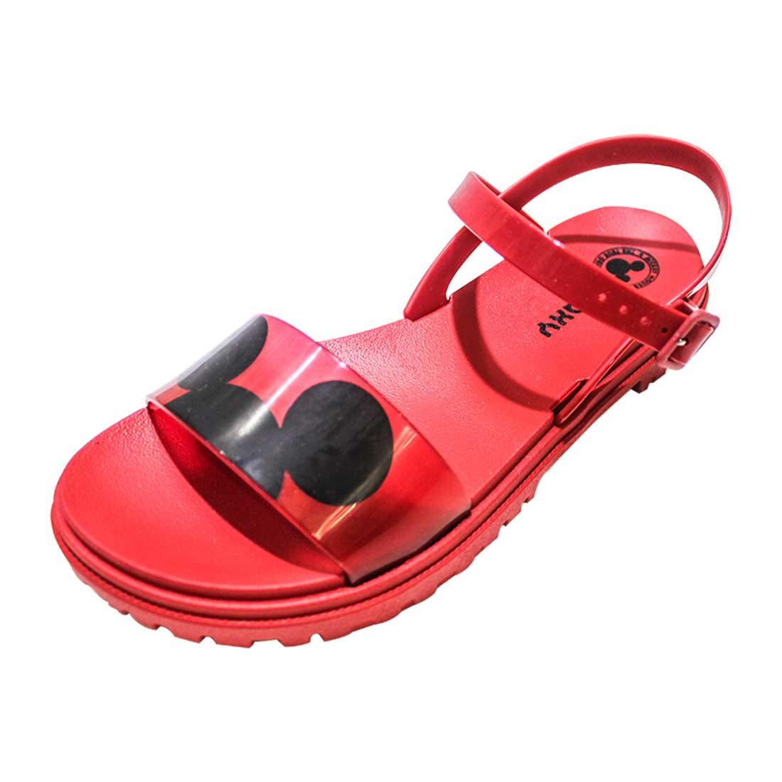 Sandália Zaxy Mickey 90 - Vermelha